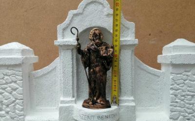 Szent Benedek szobor adománygyűjtés