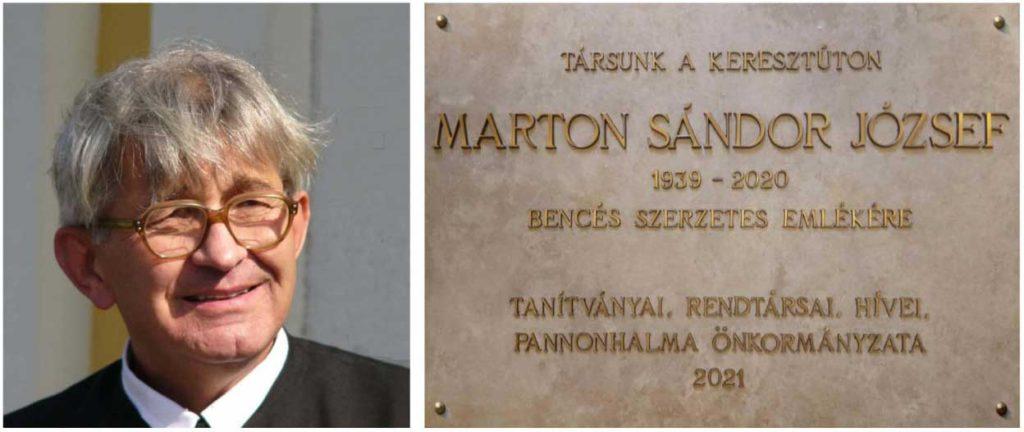 Marton József emléktábla avatás