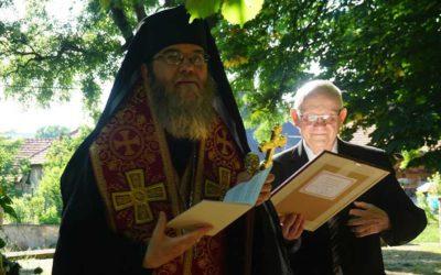 Caritas Hungarica-díjat kapott dr. Sója Szabolcs (Ph58) bencés diáktársunk