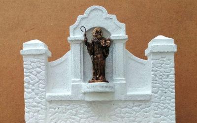 Elkészült Szent Benedek szobra